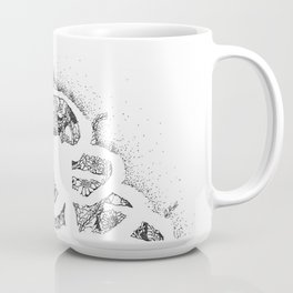 Anatomy Series: Rib Cage Flowers Coffee Mug