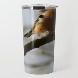 Chaffinch Inch Island Donegal Ireland Travel Mug