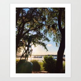 Sunset at Skull Creek | Hilton Head Island, SC Art Print