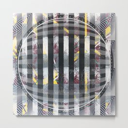 Polarized - 3D graphic Metal Print