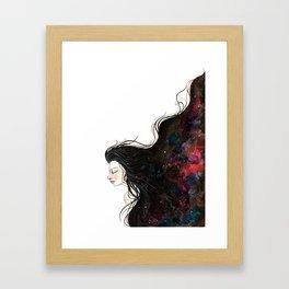 """The Galaxy inside us"" #1 Framed Art Print"