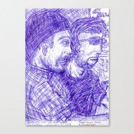 Craig  and Skye Canvas Print