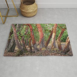 LOST IN MADRONA TREE WOODLAND Rug