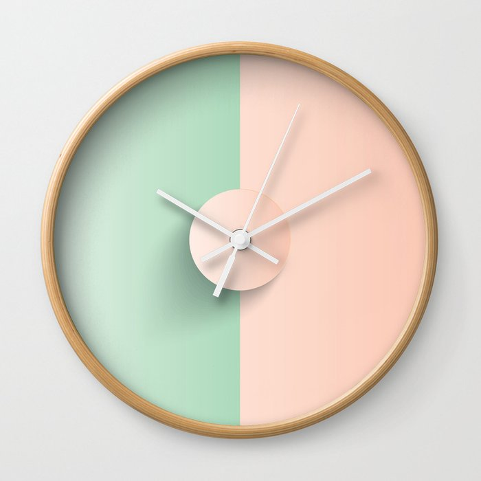 Green Apple Cinderella Wall Clock