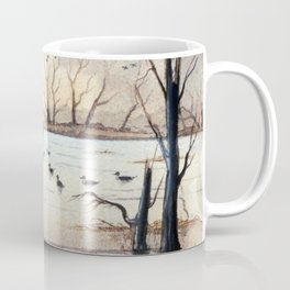 Setting The Decoys II Coffee Mug