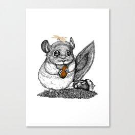 a little chinchilla Canvas Print