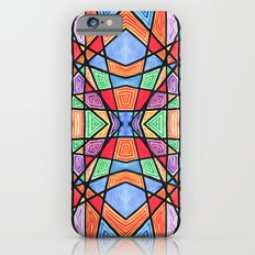 mexican stained glass iPhone 6s Slim Case
