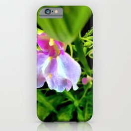 A Sunny Day In The Garden iPhone Case