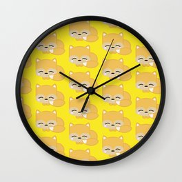 Kelvin the Foxy Wall Clock