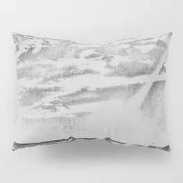 Happy Place Sketched Pillow Sham