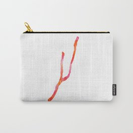 Keuka Lake Watercolor-Orange and Pink Carry-All Pouch