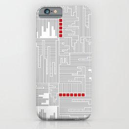 City Lines - Lignes urbaines iPhone Case