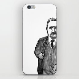 Theodore Roosevelt Did All the Things. iPhone Skin