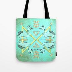 Aztec swan Tote Bag