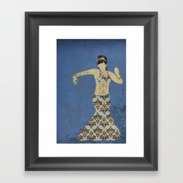 Belly dancer 4 Framed Art Print