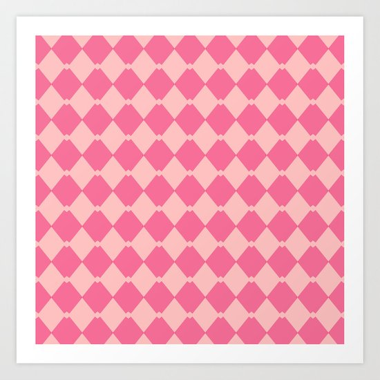 In the Pink... Art Print
