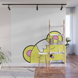 Happy Yellow Munchkin Wall Mural