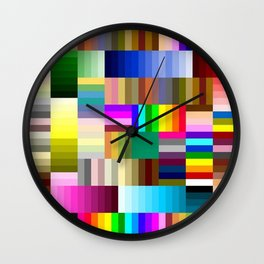 Sharpie Crazy Wall Clock