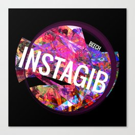 INSTAGIB Album Cover Canvas Print