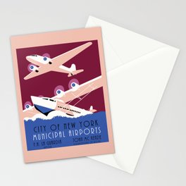 City of New York municipal airports Stationery Cards