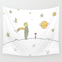 Little Prince II Wall Tapestry