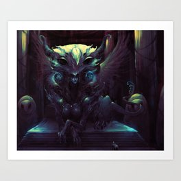 GODDESS OF WISDOM Art Print