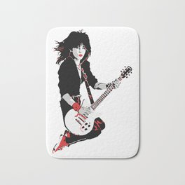 Joan Jett, The Queen of Rock Bath Mat
