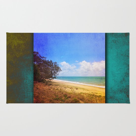 Beautiful Day by the Sea Rug
