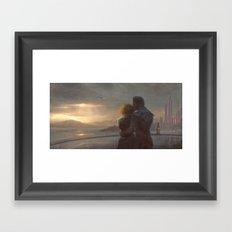 Mass Effect - English Bay Framed Art Print