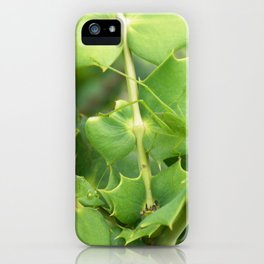 Two grasshoppers in disguise iPhone Case