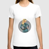 fallout T-shirts featuring Fallout girl by JuliaTara
