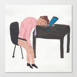 lazylazylazy Canvas Print