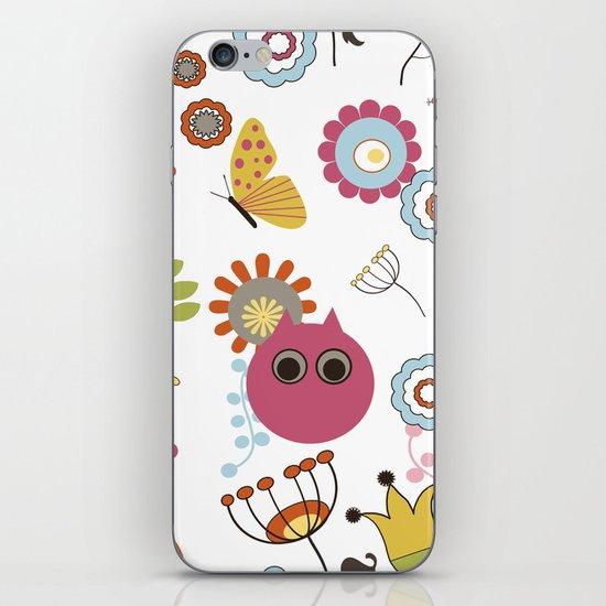 Owl in Pandora iPhone & iPod Skin
