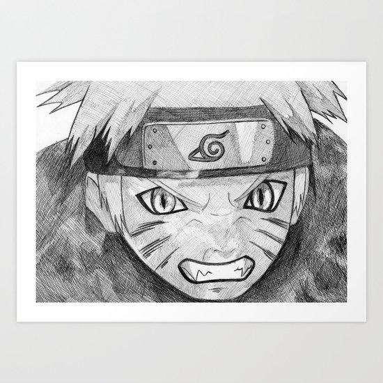 Naruto Art Print