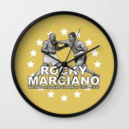 Rocky Marciano Wall Clock