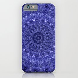 Cosmos Mandala III - Arabian Nights iPhone Case