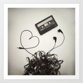 Feel the Music - 2 Art Print