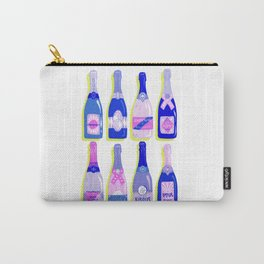 French Champagne Collection – Indigo Carry-All Pouch