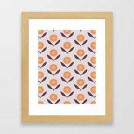 Late summer bloom Framed Art Print