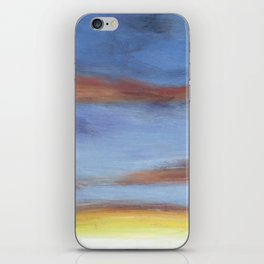 Sunset on the Road 2 iPhone Skin