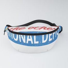 Critical Thinking the Other National Deficit American Humor Fanny Pack