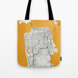 San Francisco map Tote Bag