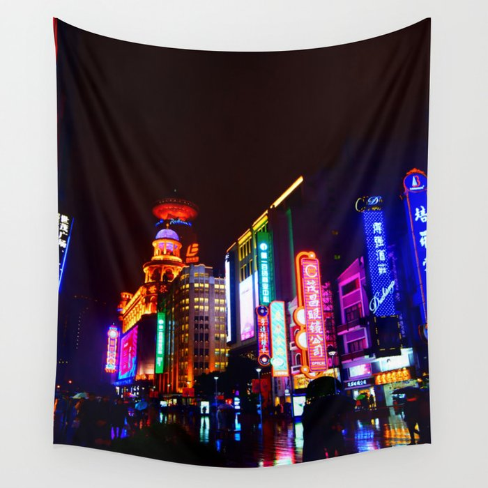 Shanghai 一 Wall Tapestry