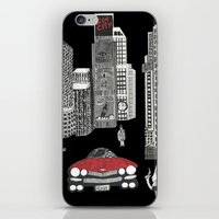 sin city iPhone & iPod Skins featuring sin city by Carmit Levy