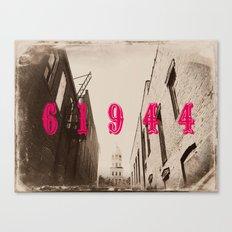 Paris, IL Canvas Print
