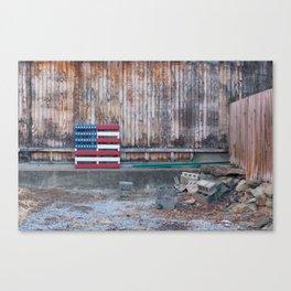 American Palette Canvas Print
