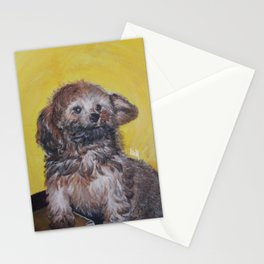 Yellow Asher Stationery Cards