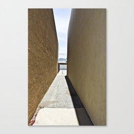 Between Buildings Canvas Print