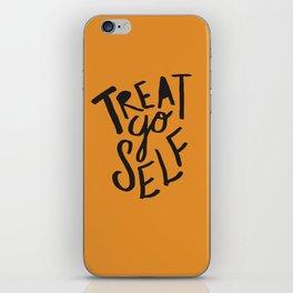 Halloween Treat Yo Self iPhone Skin
