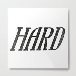 Hard Metal Print